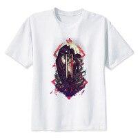 LEQEMAO Berserk T Shirt Men T Shirt Fashion T Shirt O Neck White TShirts For Man
