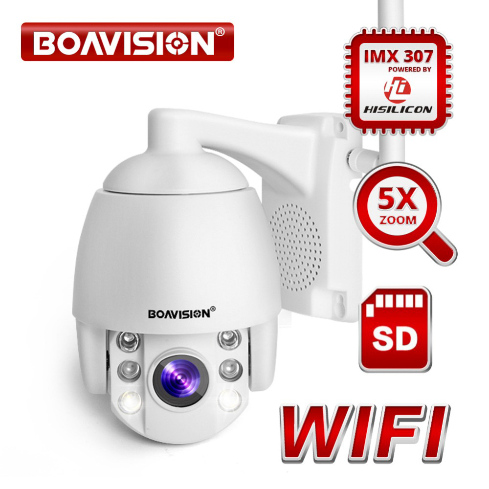 BOAVISION Super Mini 2.5 Inch Speed Dome IP Camera Zoom /