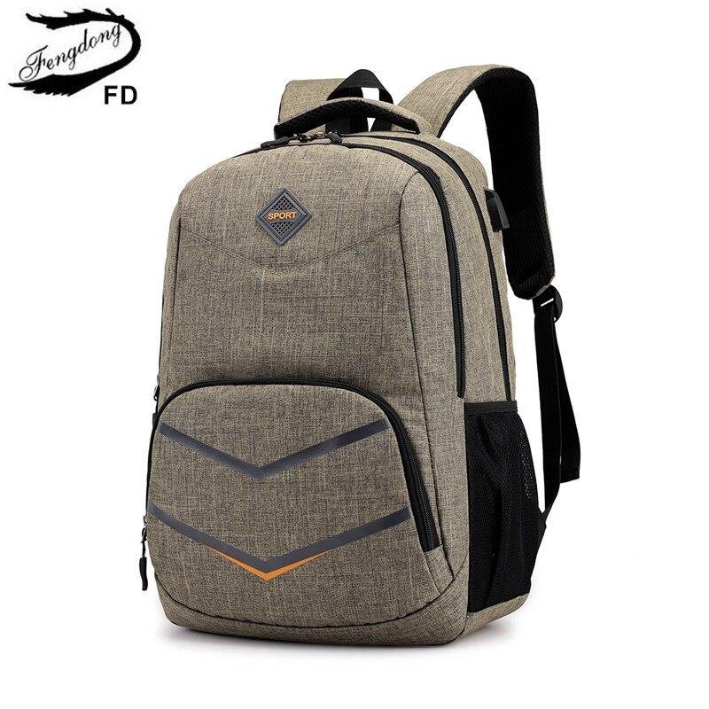 US $16.84 54% OFF|FengDong high school bags