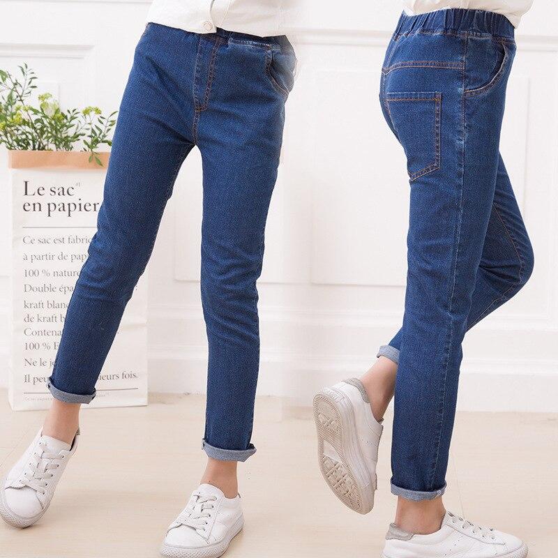 2017 Kinderen Jeans Voor Meisjes Casual Denim Broek Kinderkleding Broek Baby Skinny Broek Baby Herfst Kleding Meisjes Bodems Verschillende Stijlen