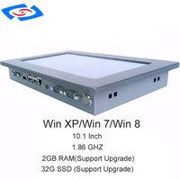 "ips win10 מפעל חנות 10.1"" מחשב הלוח תעשייתי תעשייתי לוח PC עם מסך IPS מסך מגע Win10 לינוקס OS 2GB RAM 32G SSD (4)"