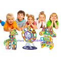 Mini120pcs Магнитный Конструктор Construction Set ABS Пластиковые Собрать 3D DIY Модели и Строительные Блоки детские Развивающие Игрушки