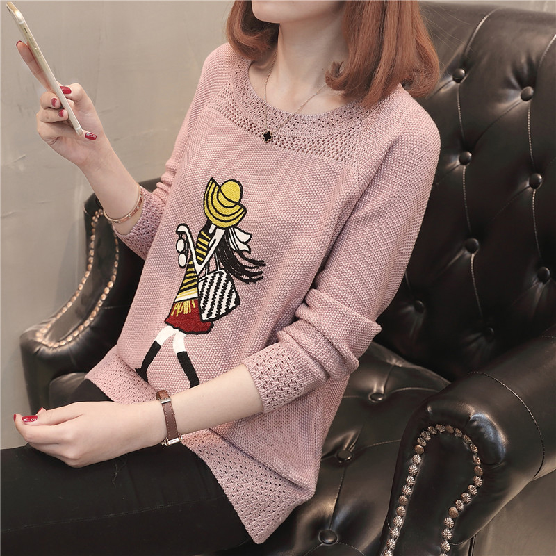Cheap Wholesale 2018 New Summer Hot Selling Women's Fashion Casual Warm Nice Sweater  L403
