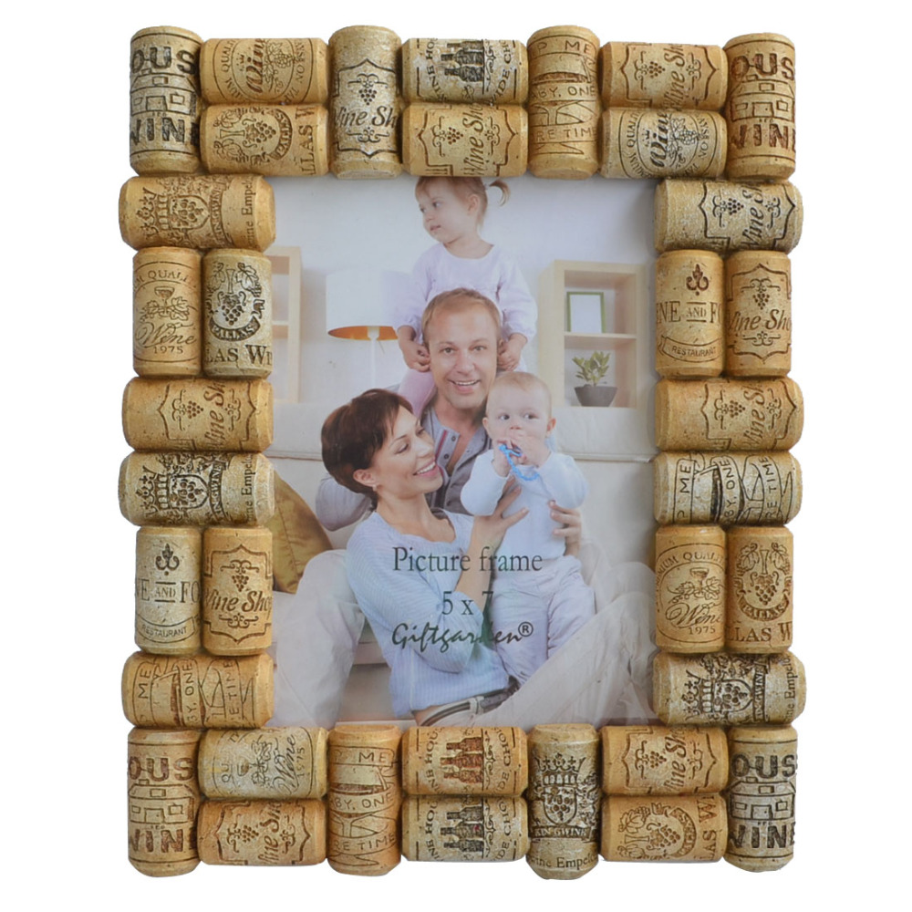 Anniversary Album Photo 5 By 7 Picture Frame Wine Cork Crafts