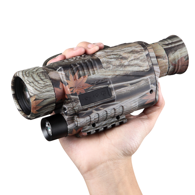 Nouveau Camouflage 5X40 CCD IR numérique nuit vision caméra vidéo enregistreur full dark night vision monoculaire de vision Nocturne dispositif