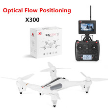 Newest RC drone X300 6-axis Gyro Optical Flow Positioning Air Press Altitude powerful flight three-leaf propeller RC Quadcopter
