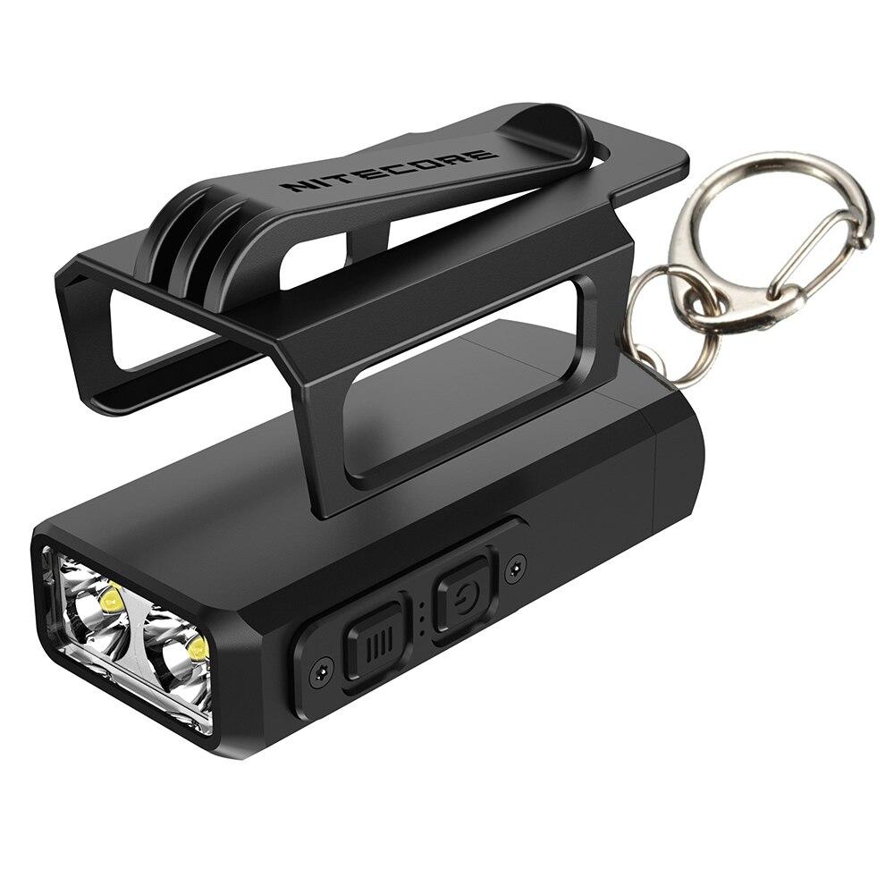 Nitecore TIP2 mini USB Rechargeable LED KeyLight 2x CREE XP G3 S3 720LM Built In Li