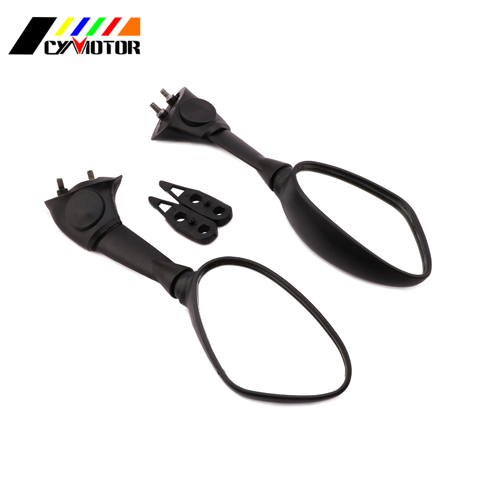 Motorcycle Left Right Side Rear Rearview Mirror For BMW S1000RR S1000 RR S 1000RR 2009 2010 2011 2012 2013 2014 09 10 11 12-14 55mm clip on clip ons handle bars handlebar for bmw s1000rr s 1000rr s rr 1000 s 1000 rr 2009 2010 09 10 sl
