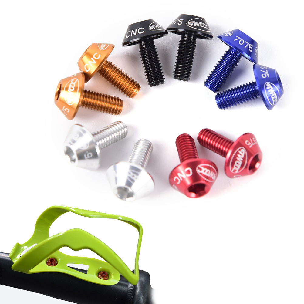 Alloy Bike Water Bottle Cage Holder with Mounting Screws