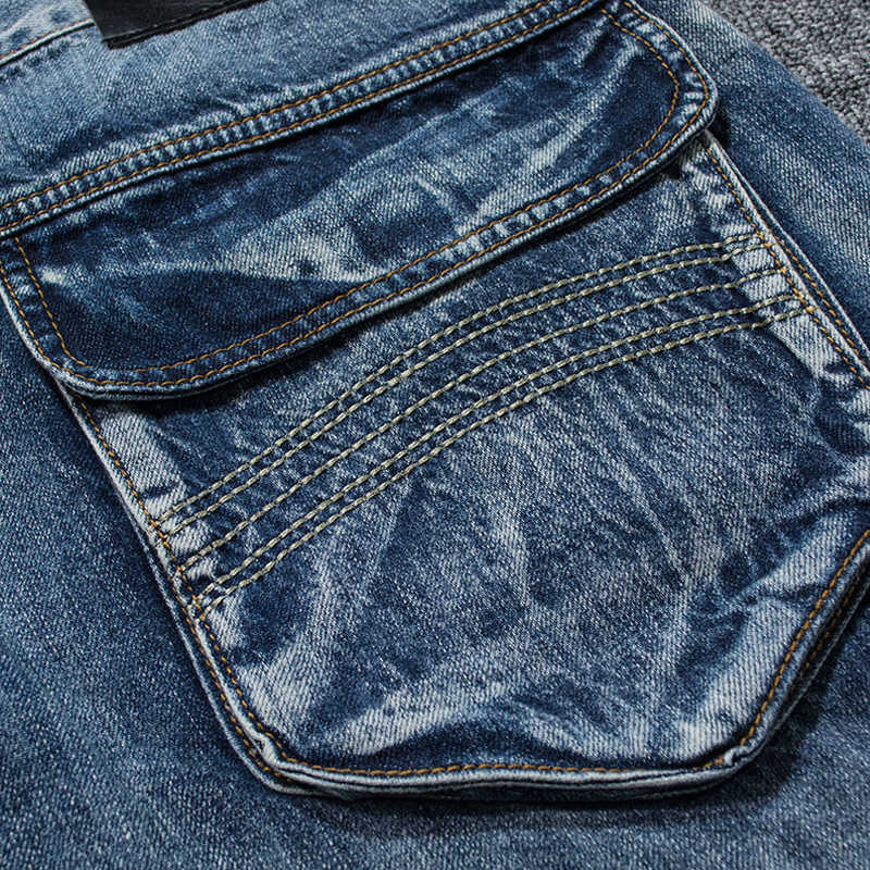 Holyrising Mannen Jeans Broek Casual Katoenen Denim Broek Multi Pocket Cargo Jeans Mannen Nieuwe Mode Denim Broek Grote maat 18665 -5