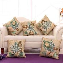 Чехлы из хлопка и льна для декоративных подушек креативные наволочки