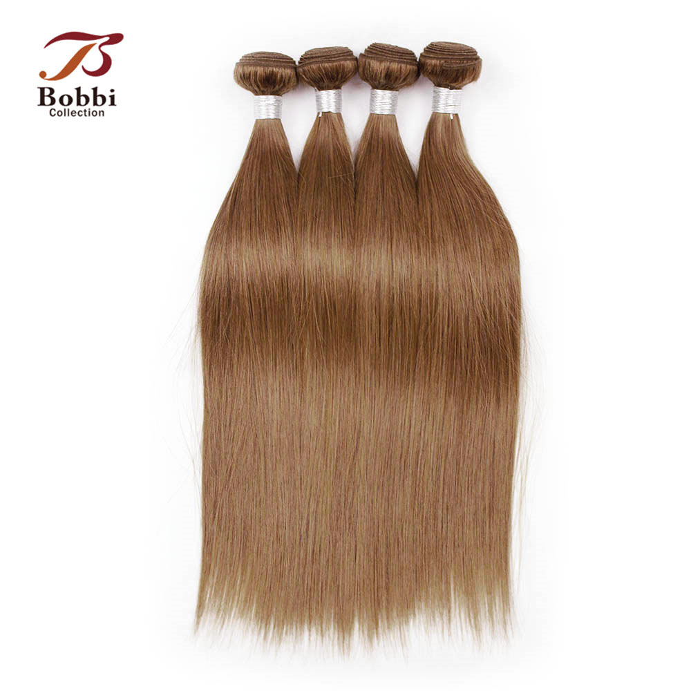 Haarverlängerungen Moderne Show Haar Malaysia Gerade Haarwebart Bundles #4 Farbe Remy Menschenhaar Spinnt Bundles Doppel Schuss 100g Haar Verlängerung Haarverlängerung Und Perücken