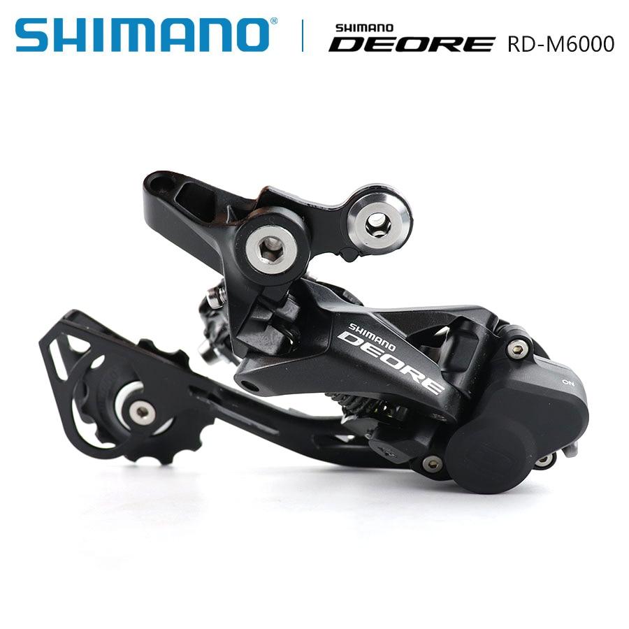 Shimano Deore RD-M6000 SGS Dérailleur Arrière long 10 vitesse VTT vtt accessoires Vélo Arrière Dérailleur