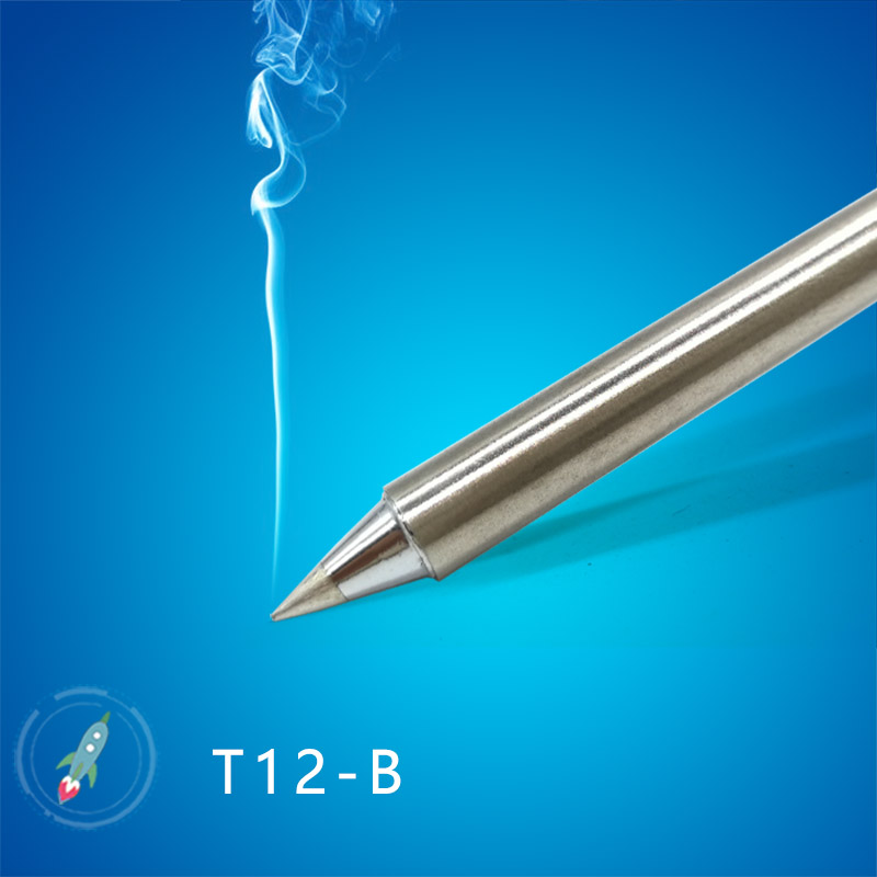 2018 QUICKO T12 Series  T12-B T12-B2  T12-BL Soldering Iron Tips For FX-951 Welding Iron Station  24V 75w 20000 Soldering Joints