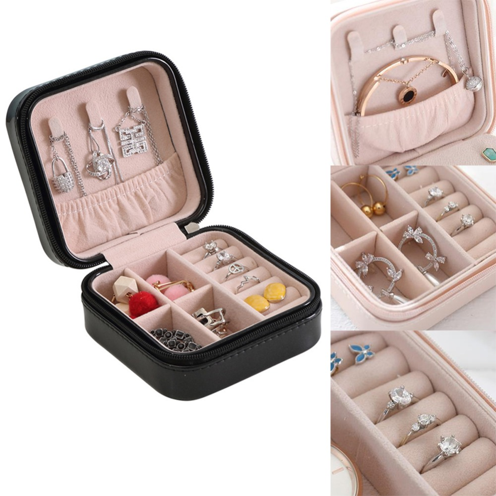 Jewelery Organizers Storage Gift Boxes For Earring Bracelet Necklace Candy Color Storage Box Gift Box For Jewelry