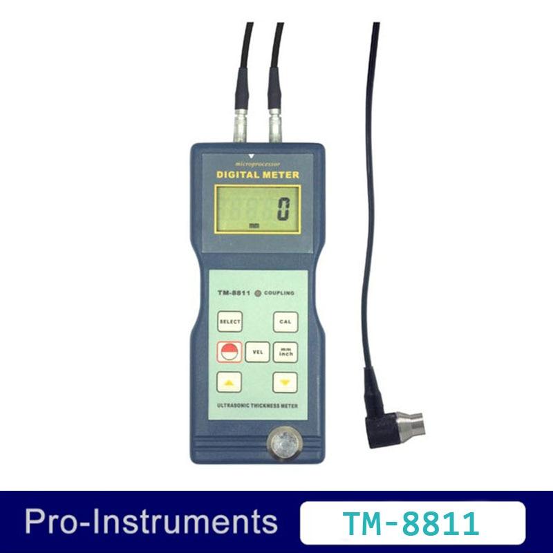 Landtek TM8811 Ultrasonic Thickness Gauge Universal Hard Materials Corrosion Tester 0.06~8 inch Thickness meter инструменты измерения и анализа landtek sl5816 sl 5816 40 130
