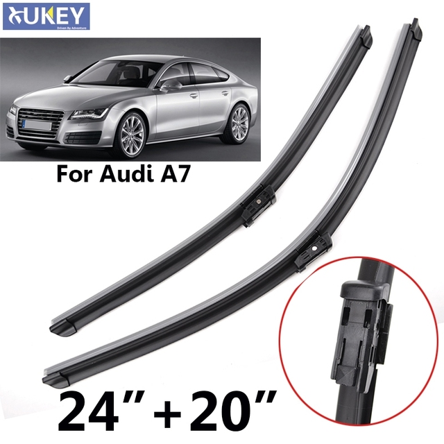 xukey 24 20 windshield windscreen wiper blades for audi a7 2010 rh aliexpress com Audi A3 Sportback Audi A3 TDI