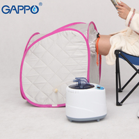 GAPPO Steam Sauna room portable Weight loss home Calories bath SPA with steam generator capacity of 2L Beneficial skin infrared
