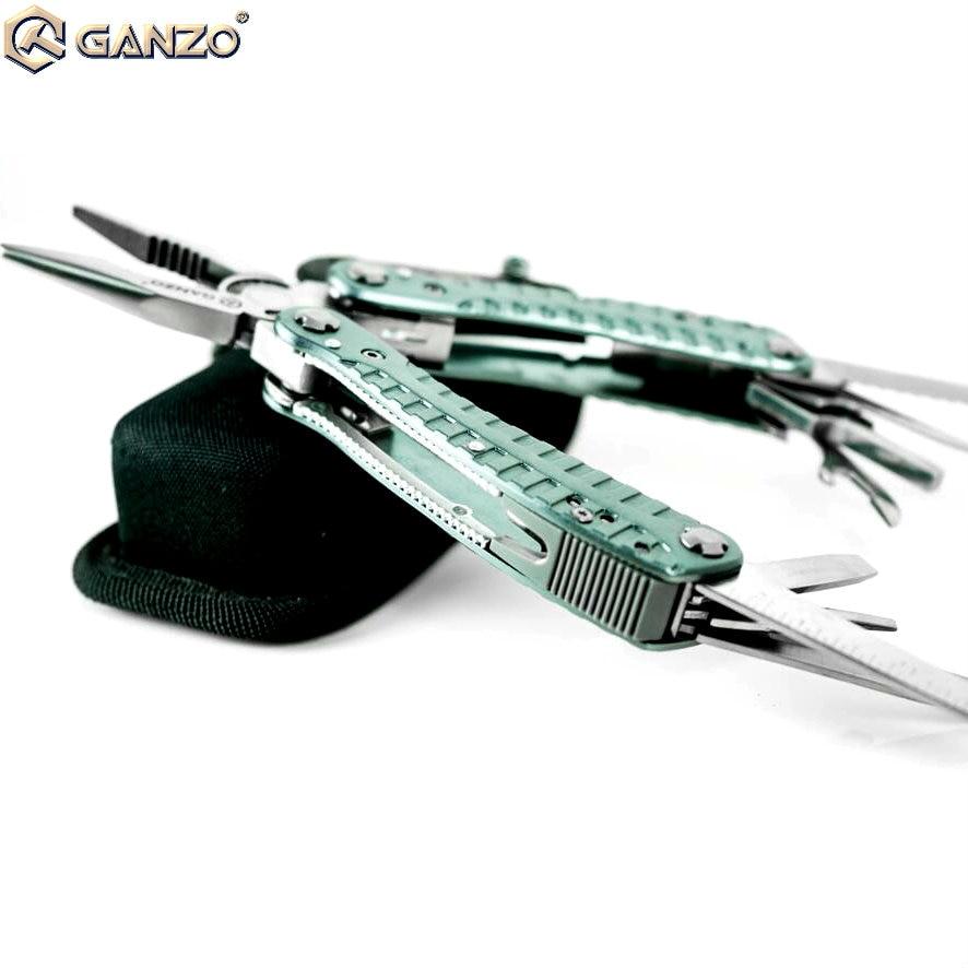 Nachdenklich Beste Verkauf Rad Ganzo G105 Multi Zweck Zange Camping Werkzeug Edc Rettungs Ausrüstung Blau Klapp Kombination Zange Werkzeug Offensichtlicher Effekt Handwerkzeuge