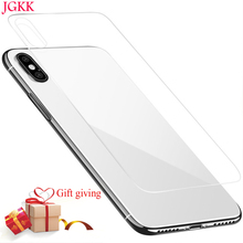 Front+Back Tempered Glass For iPhone X Xs Max XR 5s SE Protective Glass Screen Protector For iPhone XS 8 7 6 Plus safety Glass