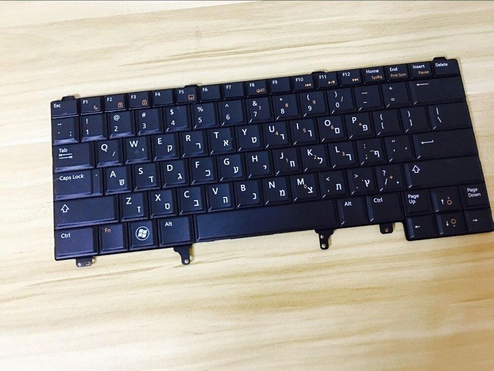 Nouveau clavier D'ordinateur Portable pour Dell Latitude E5420 E5430 E6440 E6220 E6230 E6320 E6330 E6420 E6430 XT3 HB/HÉBREU disposition