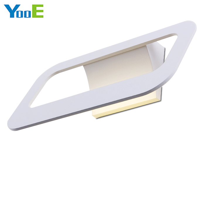 Фотография YooE 6W Indoor LED Wall Lamp bedroom fashion Lighting Iron material Wall Sconce AC110V/220V LED Wall Linght Warm White