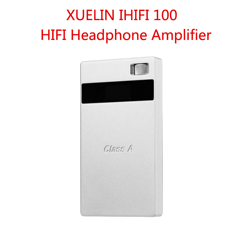 New arrival Xuelin IHIFI100 Pure Class A High Performance Portable HiFi Headphone Amplifier 128db SNR Compact and lightweight brand new appj pa1502a hifi vacuum tubes headphone earphone amplifier class a 12ax 6v6 6p6 power amps black sliver high end