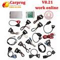 Conjunto completo V8.21 Versão Online Perfeito Repair Tool Carprog V7.28 ECU Chip Tunning Ferramenta muito melhor do que o Carro prog