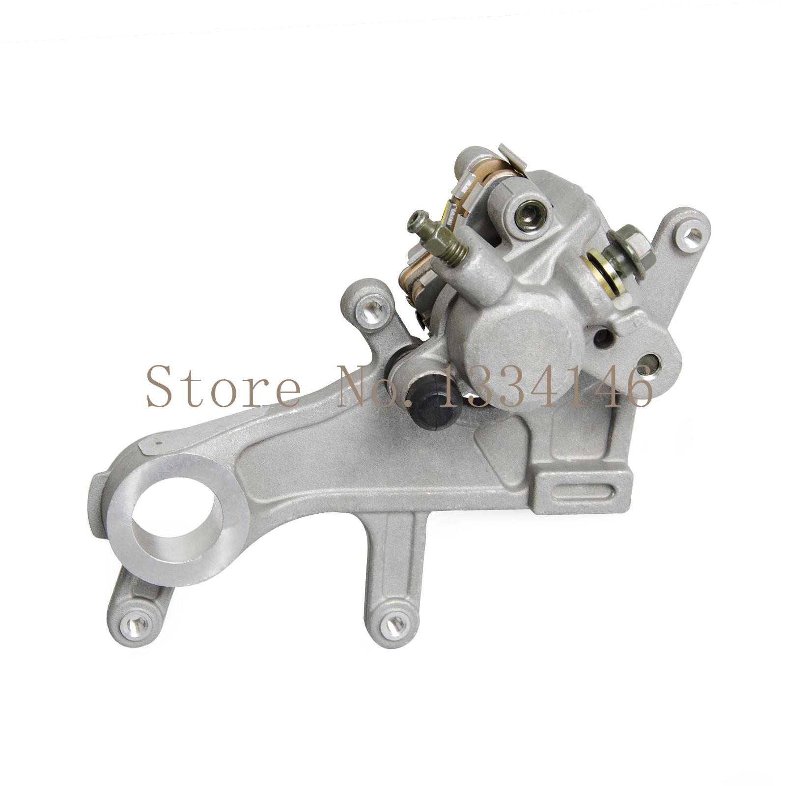 New Rear Brake Caliper For Honda CRF250X CRF 250X 2004-2009 2012-2013 for honda crf 250r 450r 2004 2006 crf 250x 450x 2004 2015 red motorcycle dirt bike off road cnc pivot brake clutch lever