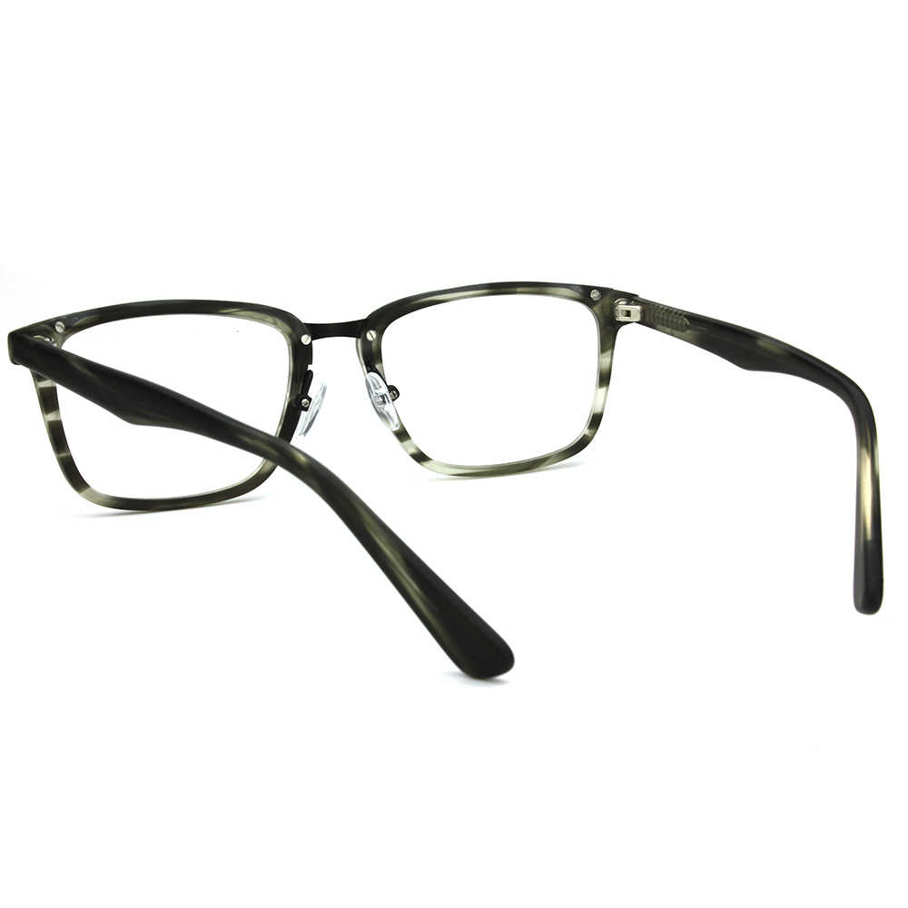e77b34523c86 ... Mens Black RX Prescription Eye Glasses Frames For Women Vintage Metal  Bridge Optical Specs Frames Designer