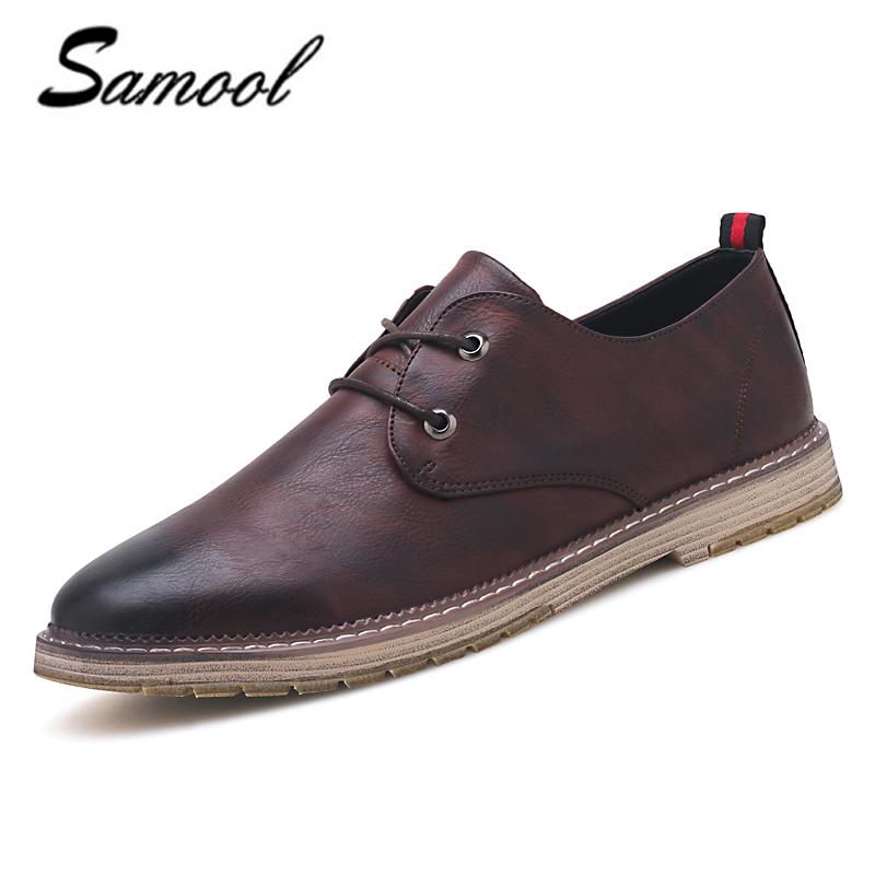 dress shoe 2018 split leather flats shoe 2018 business office dress shoes for lace up solid formal