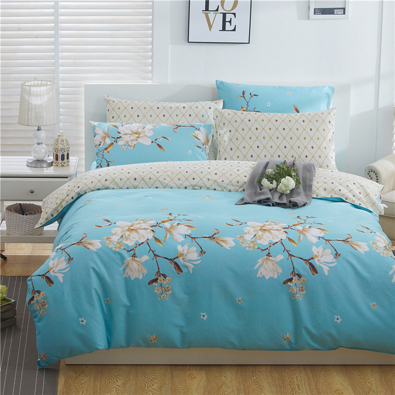 Free Shipping Modern Style 100% Cotton Duvet Cover Set Bed Sheet Pillowcase King Size Super Soft  Bedding Sets LIPA002Free Shipping Modern Style 100% Cotton Duvet Cover Set Bed Sheet Pillowcase King Size Super Soft  Bedding Sets LIPA002