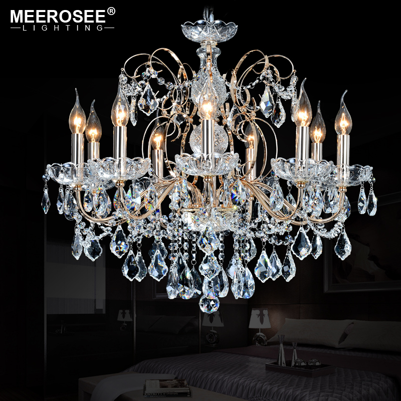 European Fashion Vintage Chandelier Lamp 9 Arms Candle Lights Lighting Fixtures Iron Home E14 E12 Modern Chandeliers In From