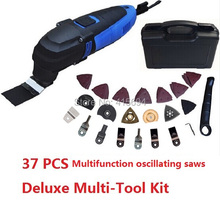 Deluxe Multi Tool Kit mulit-werkzeug installationssatz ,with 37 accessories Storage case.Ideas for DIY home renovation work!