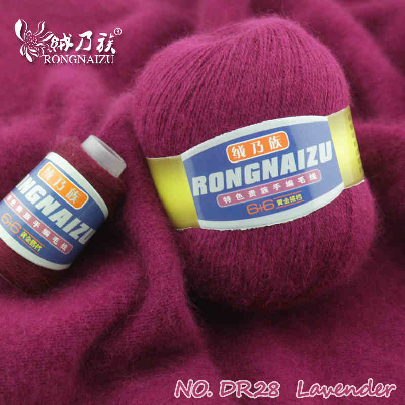Hand Knitting Yarn : G lot top quality mink cashmere wool yarns for knitting
