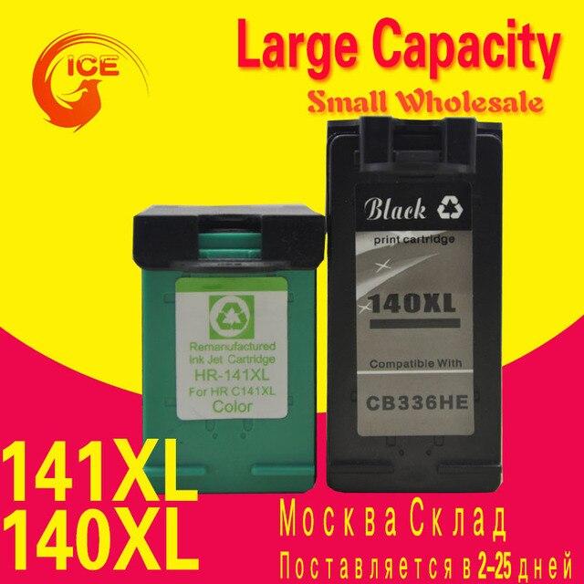ink Cartridge For HP 140 141 140XL 141XL For HP Photosmart C4283 C4583 C4483 C5283 D5363 Deskjet D4263 D4363 PRINTER ip140