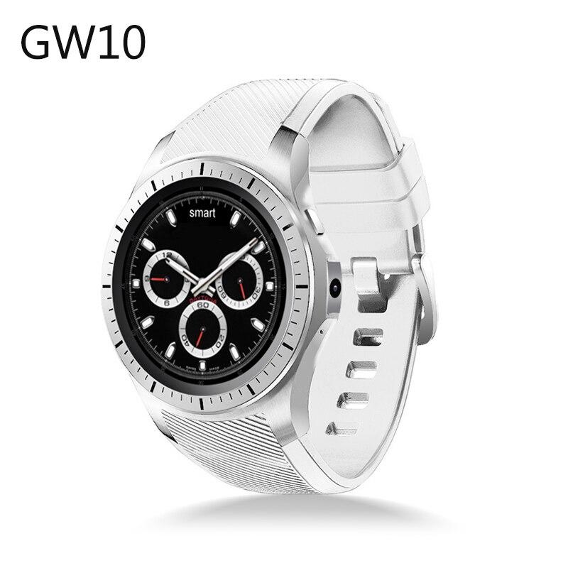 2017 Nueva GW10 3G Reloj Inteligente MTK6572 Android 5.1 Dual Core GPS del Ritmo