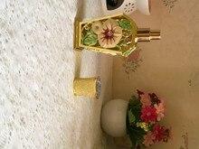 Высококачественный металлический Орхидея спрей флакон духов многоразового моя бутылка
