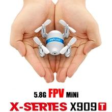 5 8G FPV Mini rc Drone X909T with 2 0MP Camera One Key Return Headless Mode