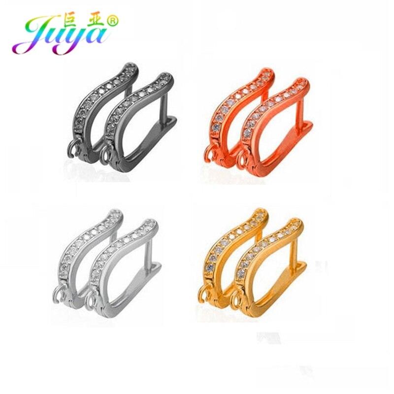 28db4a70f Juya DIY Jewelry Findings Handmade Creative Leverback Earwire Earring Hooks  Accessories For Women Hoop Dangle Earring Making-in Jewelry Findings ...