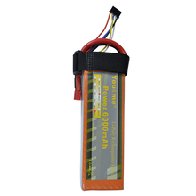 You&me 14.8V 6000mAh 4S 50C Max 100C RC Li-Poly Battery for RC Helicopter quadcopter