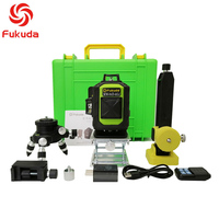 Fukuda 16 line 4D laser level 360 Vertical And Horizontal Laser Level Self leveling Cross Line 4D Green Laser Level with outdoor