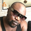 SUNSTONE Famoso Estrelas Estilo de Design Da Marca de Alta Qualidade óculos de Sol Das Mulheres Dos Homens de Luxo de Grande Porte Half Frame UV400 Sun Antolhos SA22