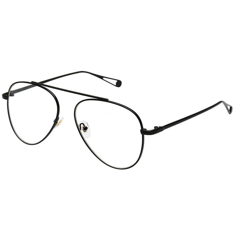 e6dc6de04556f Rimless Gold Eye Glasses Frame Women Vintage Pilot Eyeglasses Frames For Eyewear  Prescription Slim Metal Optical Clear Lens 8276-in Eyewear Frames from ...