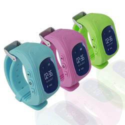 Q50 OLED Дисплей Для детей Детские умные часы gps трекер Locator Anti-Потерянный Водонепроницаемый безопасный часы