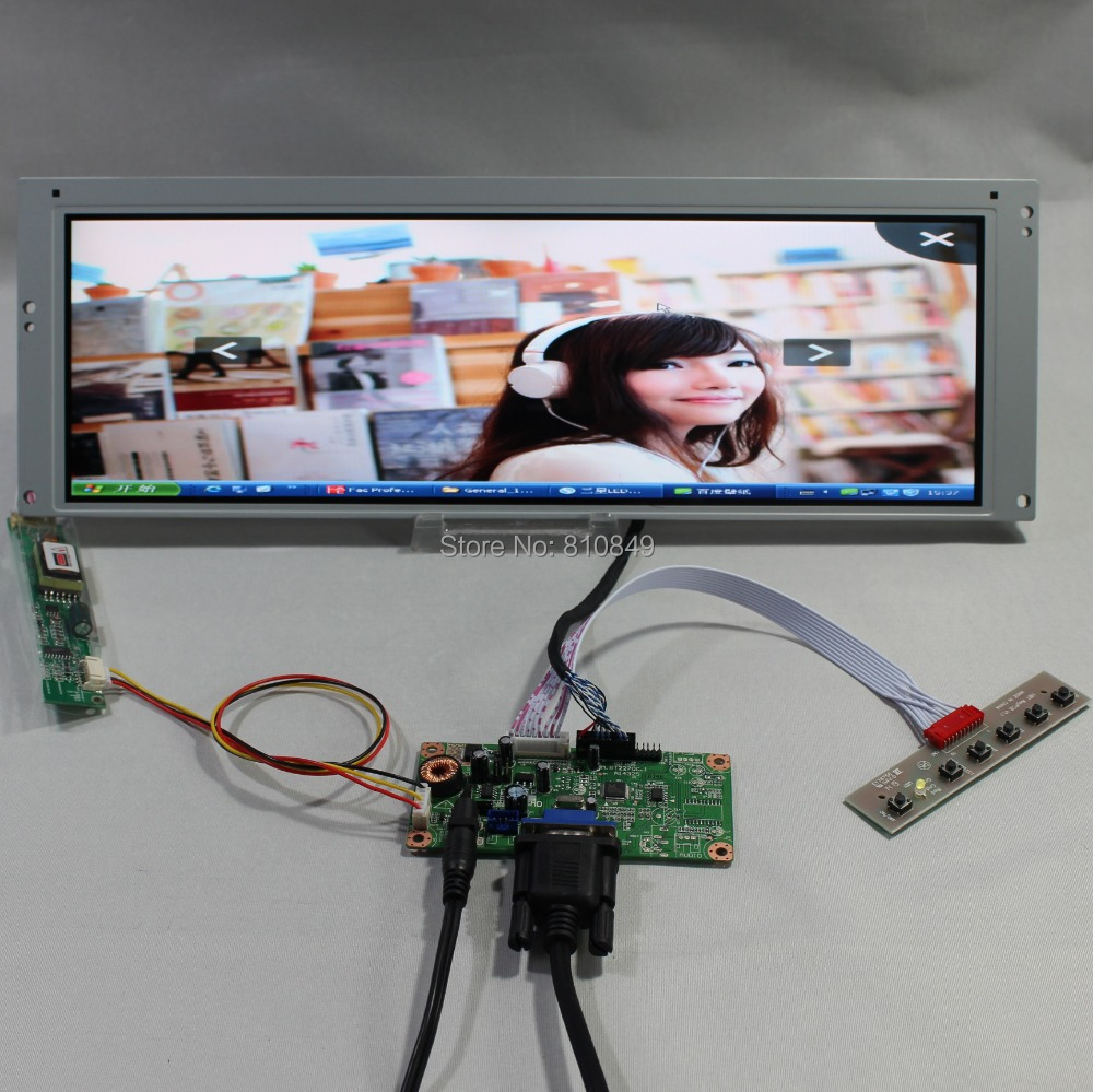 VGA LCD controller board RT2270+14.9inch 1280*390 LTA149B780F  LCD screen