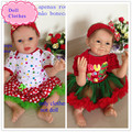 High Class Design 55cm Reborn Baby Doll Clothes 22 Inch Baby Reborn Doll Dress Best Doll Accessory As Christmas Baby Doll Gifts