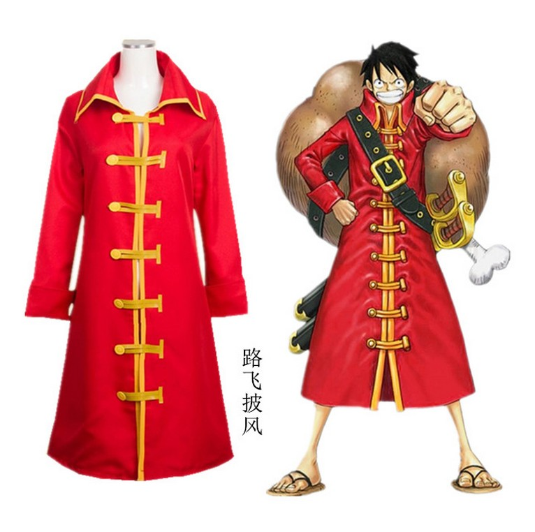 Anime One Piece Cosplay 2 Years Later Monkey D Luffy Cosplay Costume