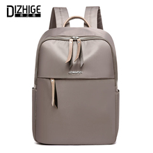 Купить с кэшбэком DIZHIGE Brand Fashion Waterproof Oxford Women Backpack High Quality School Bags For Women Large Capacity Travel Bags Female New