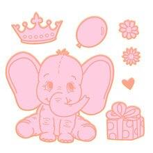 YaMinSanNiO Elephant Metal Cutting Dies for DIY Album Card Making Animal Scrapbooking Crafts 2019 New Die Cuts Arrival